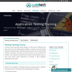 Software Testing Training Institute in Surat