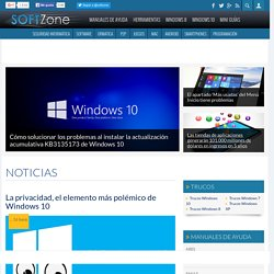 Soft Zone : Blog sobre Software con tutoriales de ayuda y noticias