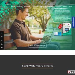Watermark Creator - Free Logo Maker Software