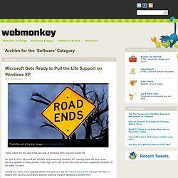 Software | Webmonkey?| Wired.com