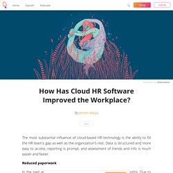 How Has Cloud HR Software Improved the Workplace? - Jesmin Alaiya