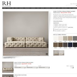 Soho Tufted Upholstered Daybed | Soho