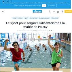 Le sport pour soigner l'absentéisme à la mairie de Poissy - Le Parisien