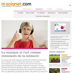 M-Soigner - La musique et l'art comme stimulants de la mémoire