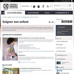 Soigner son enfant – Vous êtes parent – Le CG13 à votre service -Site du Conseil général des Bouches-du-Rhône