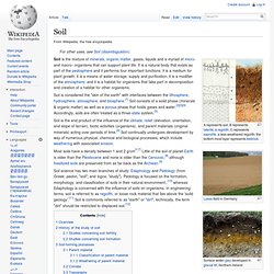 Mining industry minerology pearltrees for Soil encyclopedia