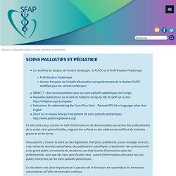 Soins palliatifs et pédiatrie