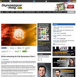 Soirée networking du Club Dynamique à Paris !
