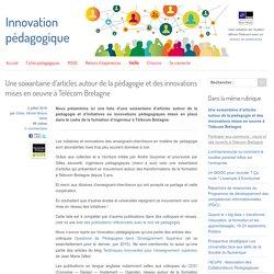 Une soixantaine d'articles autour de la pédagogie et des innovations mises en oeuvre à Télécom Bretagne