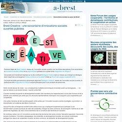 Brest Creative : une soixantaine d'innovations sociales ouvertes publiées