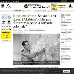 """Soixanteans après, l'Algérie n'oublie pas """"l'autre visage de la barbarie coloniale"""""""