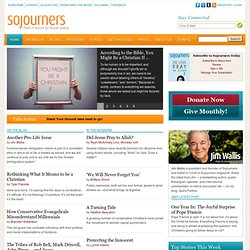 Sojourners: Celebrating 40 Years of Faith in Action for Social Justice
