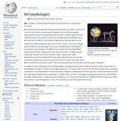 Sól (mythologie)