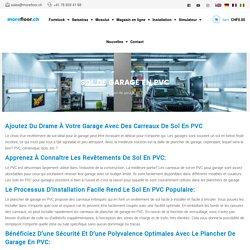 Pavimento per garage in PVC