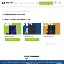 Kit solaire autoconsommation - Oscaro Power