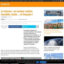 Le Saurea : un moteur solaire inusable, écolo... et français !