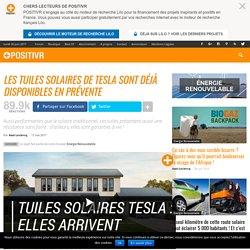 Les tuiles solaires de Tesla sont déjà disponibles en prévente