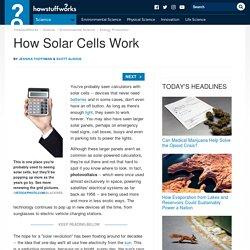 """How Solar Cells Work"""""""