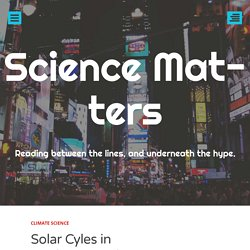 Solar Cyles in Earth Atmosphere
