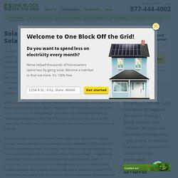Solar Economics - Financial Benefits of Solar Power
