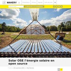 Solar OSE l'énergie solaire en open source