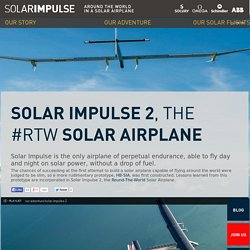 SOLAR IMPULSE - Solar Impulse 2