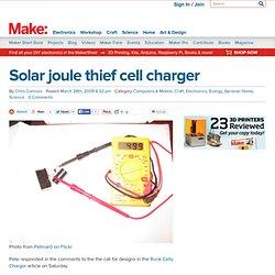 Solar Joule Thief