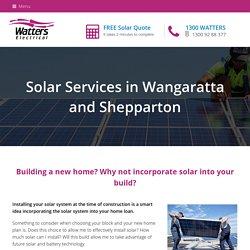 Solar in Shepparton and Wangaratta