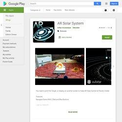 AR Solar System - Apps on Google Play