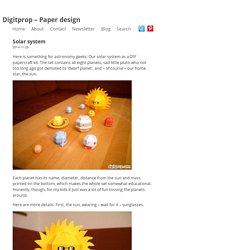 Digitprop - Paper design