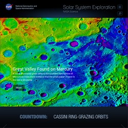 Solar System Exploration: Nasa