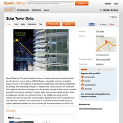 Solar Tower Doha