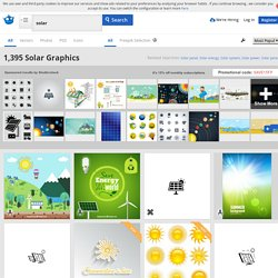 Solar Vectors, Photos and PSD files