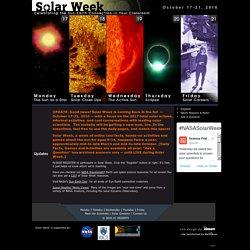 Solar Week > Home