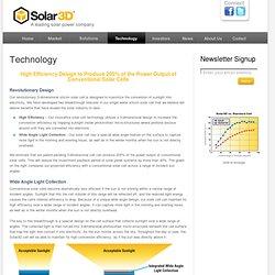 Solar3D - Technology