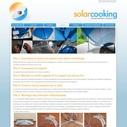 solarcooker » Installation