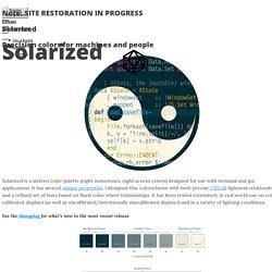 Solarized - Ethan Schoonover