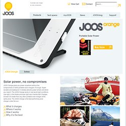 Solar JOOS – Products
