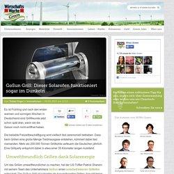 GoSun Grill: Dieser Solarofen funktioniert sogar im Dunkeln