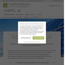 Brunnen mit Solarpumpe betreiben - Gartentraum.de