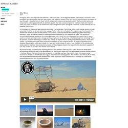 SolarSinter : markus kayser