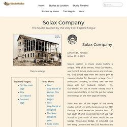 Solax Company – The Movie Studios