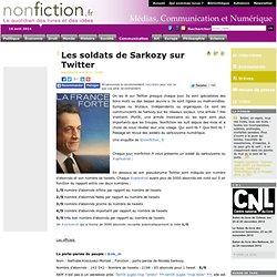 Les soldats de Sarkozy sur Twitter