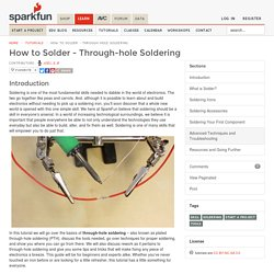 How to Solder - Through-hole Soldering