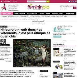 Soldes 2014 : pas de fourrure ni de cuir