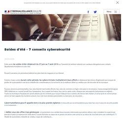 Soldes d'été - 7 conseils cybersécurité