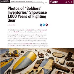 "History of soldiers' battle gear: Thom Atkinson photo project ""Soldiers' Inventories"""