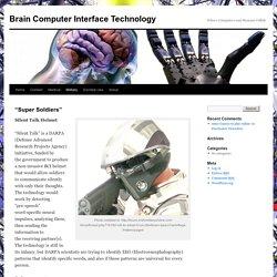 Brain Computer Interface Technology