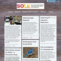 SOLE STORIES