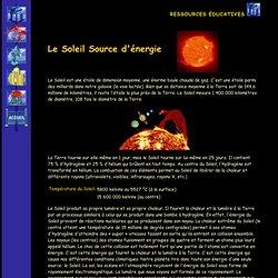 soleil : source d'énergie